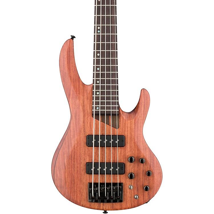 ESPLTD B-1005SE Bubinga 5-String Electric BassSatin Natural