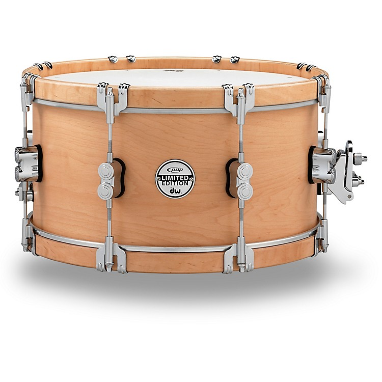 PDP by DWLTD Classic Wood Hoop Snare with Claw Hooks14 x 7 in.Natural