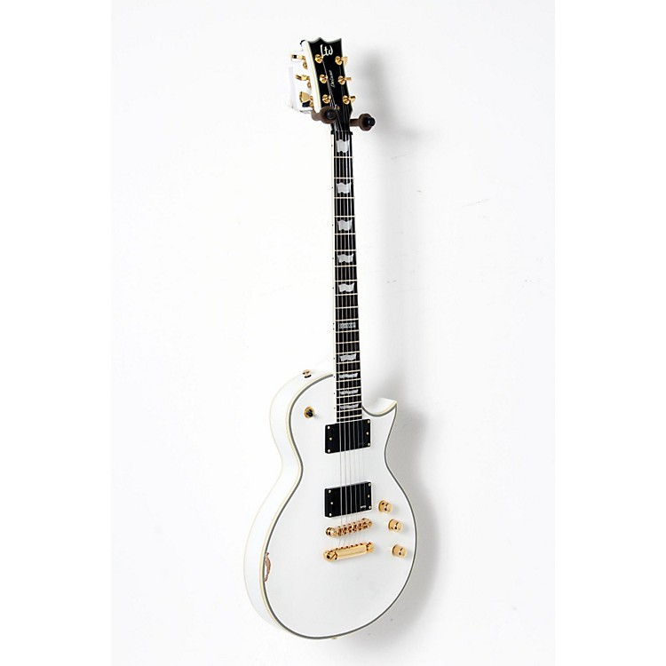 ESP LTD EC-1000T/CTM Traditional Custom Electric Guitar Snow White 888365898131