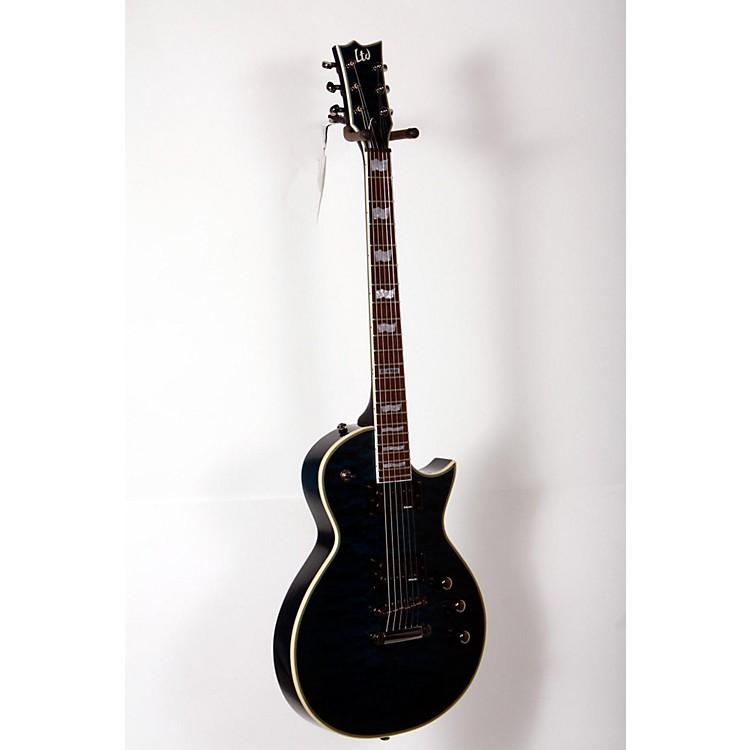 ESPLTD EC-401QMV Electric GuitarSee-Thru Blue888365898247