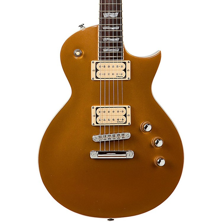 ESPLTD EC-401V Electric Guitar with DiMarzio PickupsMetallic Gold