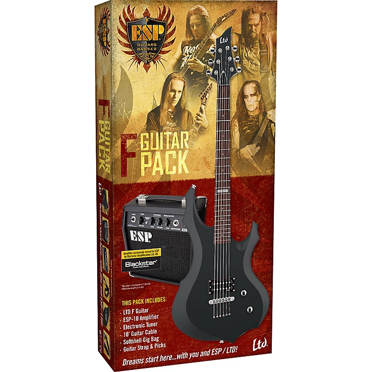 ESPLTD F Electric Guitar Value Package