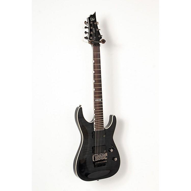 ESPLTD H-1007 7-String with Tremolo Electric GuitarSee-Thru Black888365835662