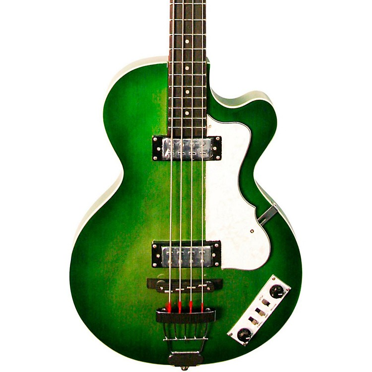 Hofner LTD Ignition Club Electric Bass 70's Green