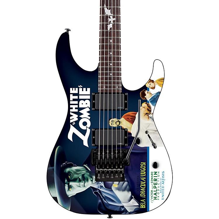 ESPLTD Kirk Hammett Signature White Zombie Electric GuitarGraphic