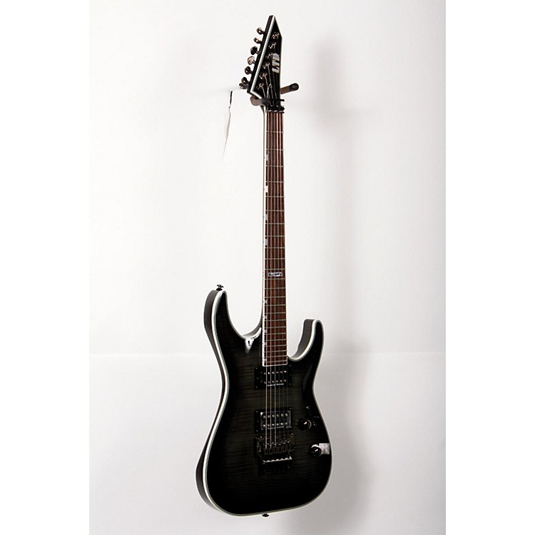 ESP LTD MH-401FM Electric Guitar See-Thru Black Sunburst 888365769363
