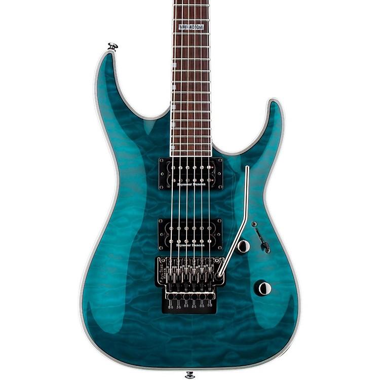 ESPLTD MH-401QM Electric GuitarSee-Thru Aqua