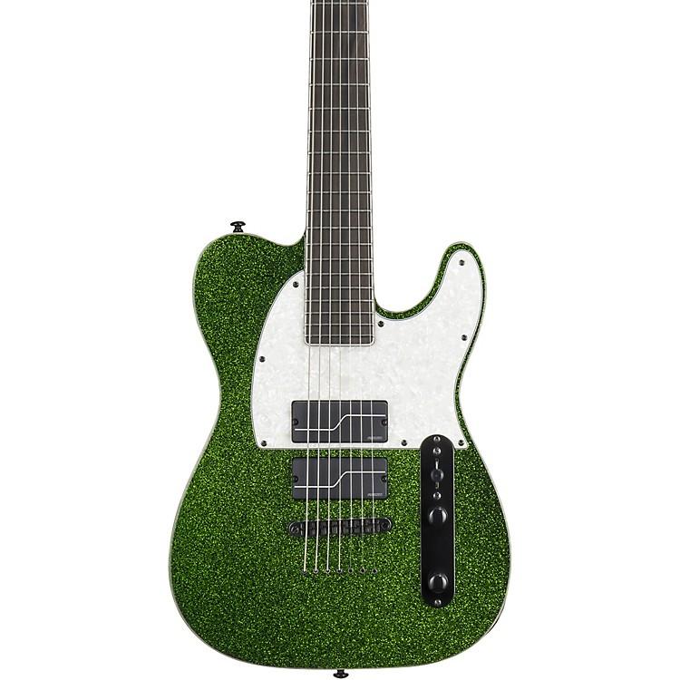 ESPLTD Stef Carpenter SCT-607 Baritone Electric GuitarGreen