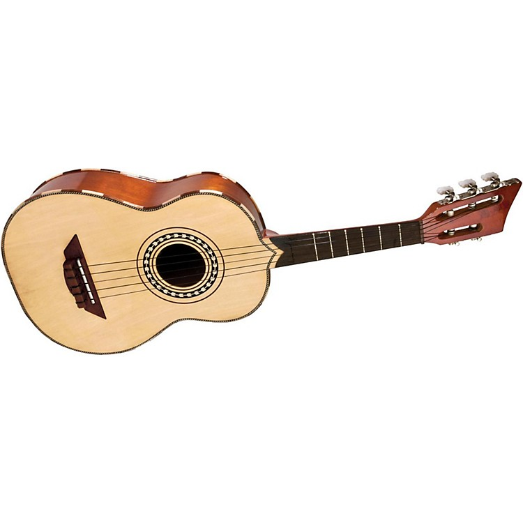H. Jimenez LV2 Quetzal Vihuela (Beautiful Songbird) Acoustic Guitar Natural