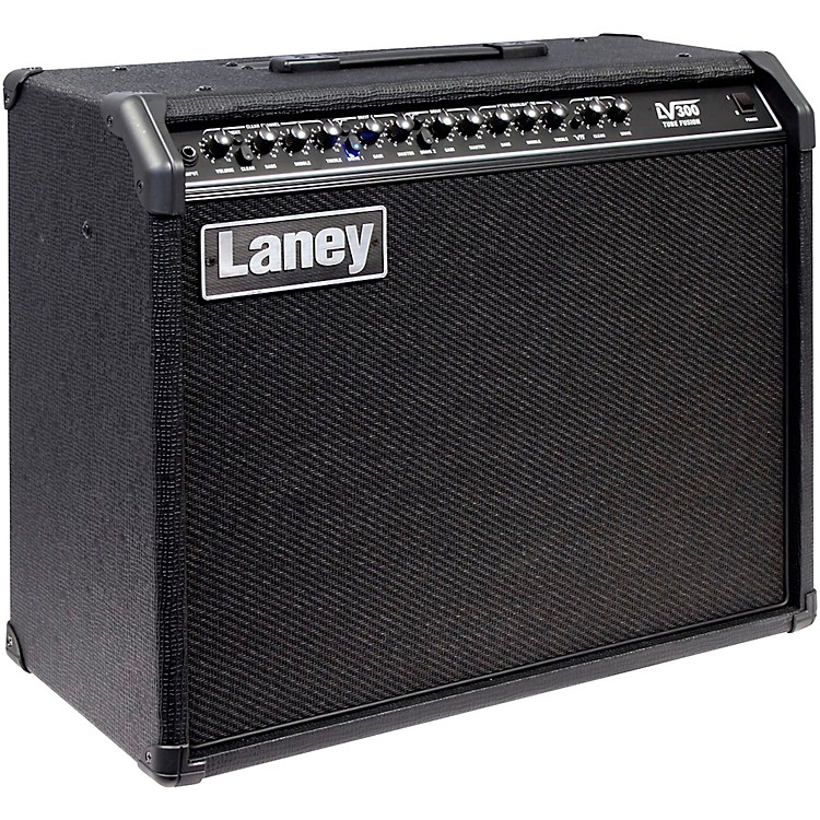 Laney LV300 120W 1x12 Tube Hybrid Guitar Combo Amp Black