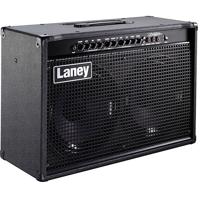 Laney LX120RT 120W 2x12 Guitar Combo Amp Black
