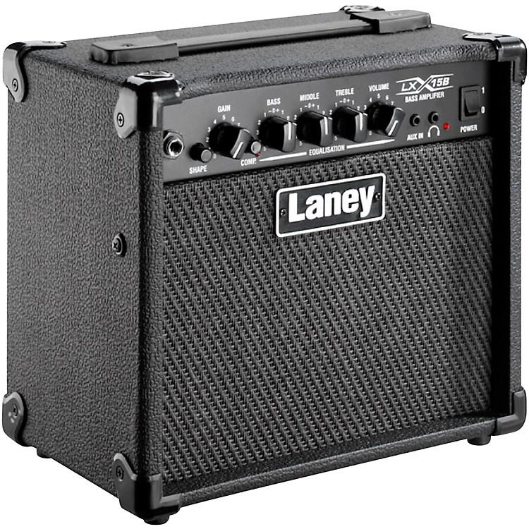 LaneyLX15B 15W 2x5 Bass Combo AmpBlack