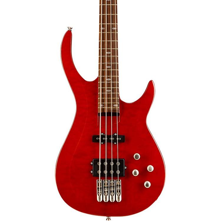RogueLX400 Series III Pro Electric Bass GuitarTransparent Red