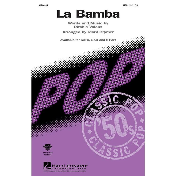 Hal LeonardLa Bamba ShowTrax CD Arranged by Mark Brymer