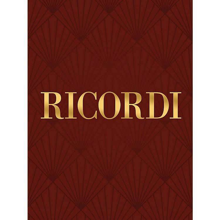 RicordiLa Carita con S. Solista, No. 3 (Study Score) Score Composed by Gioacchino Rossini
