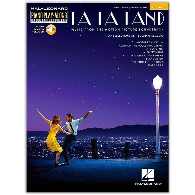 Hal LeonardLa La Land - Piano Play-Along Volume 20 Book/Audio Online