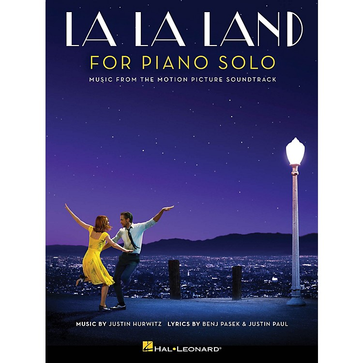 Hal LeonardLa La Land for Piano Solo (Intermediate Level) Piano Solo Songbook