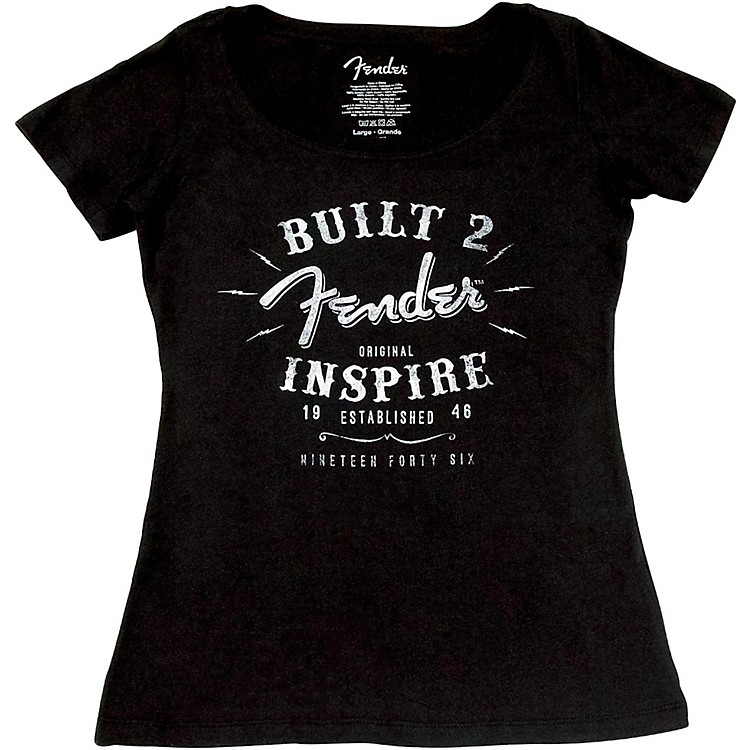 Fender Ladies Inspire T-Shirt X Large Black