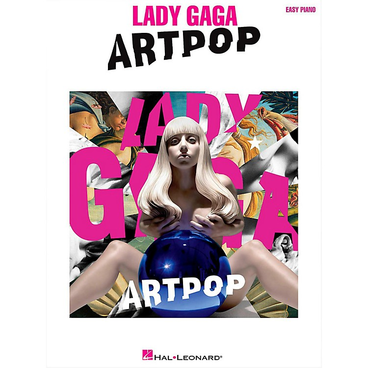 Hal Leonard Lady Gaga - Artpop for Easy Piano