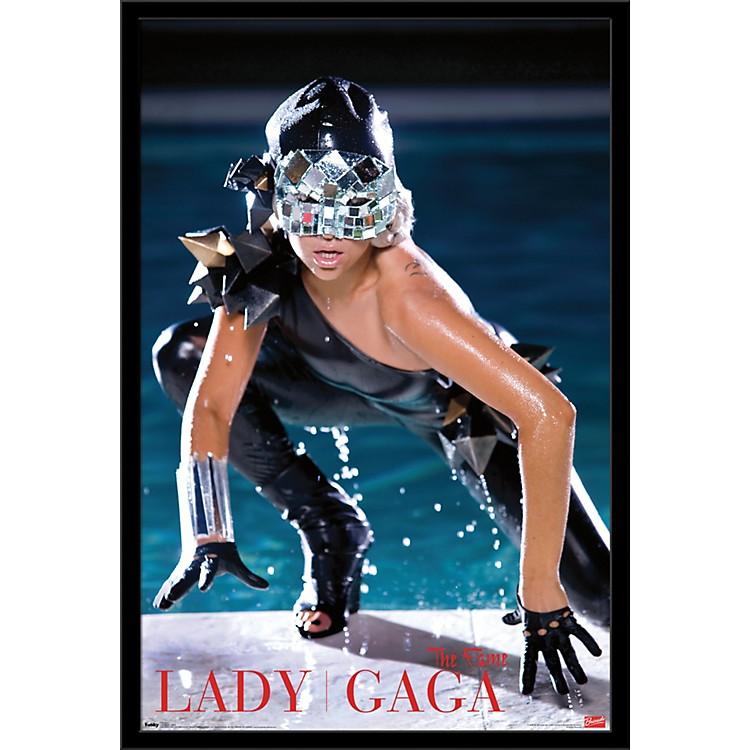 Trends InternationalLady Gaga - Pool PosterFramedBlack