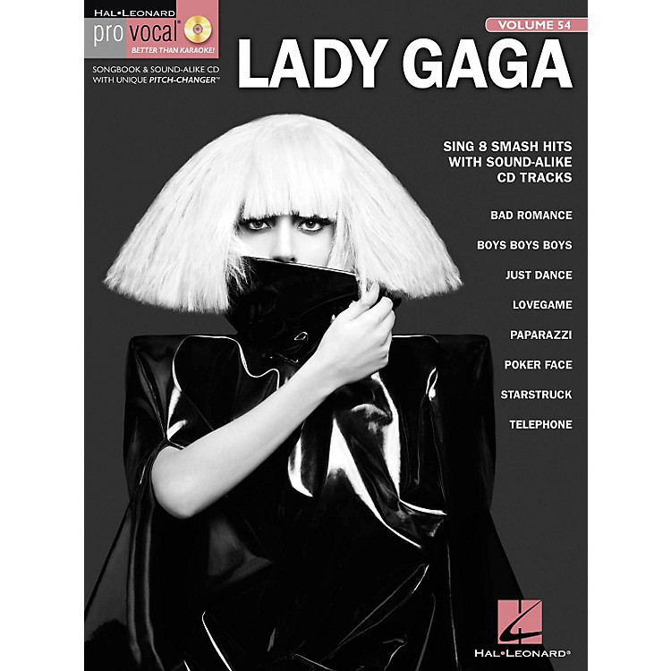 Hal LeonardLady Gaga - Pro Vocal Women's Edition, Volume 54 Songbook