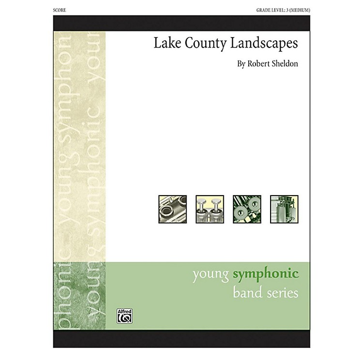 Alfred Lake County Landscapes Concert Band Grade 3