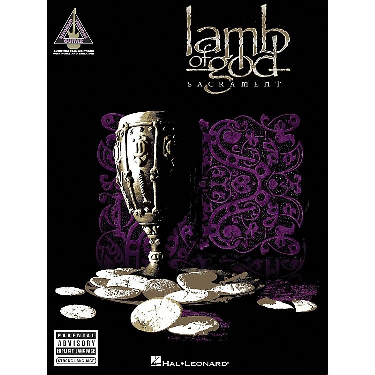 Hal Leonard Lamb of God - Sacrament Guitar Tab Songbook