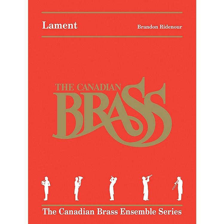 Canadian BrassLament (Brass Quintet) Brass Ensemble Series by Brandon Ridenour