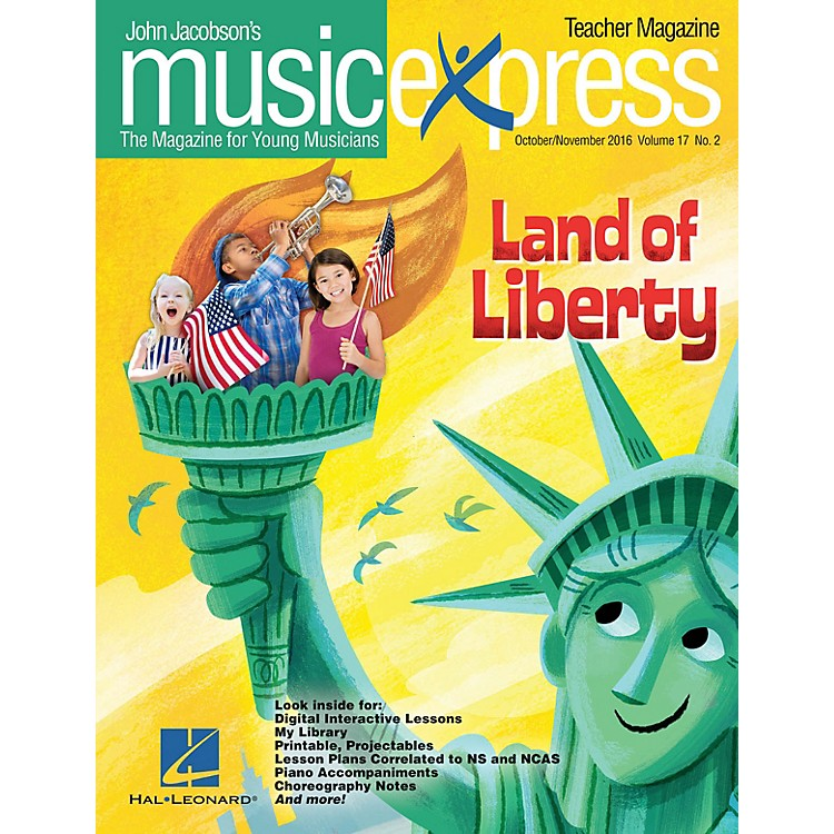 Hal Leonard Land of Liberty Vol. 17 No. 2 PREMIUM PLUS COMPLETE PAK by One Direction Arranged by Emily Crocker