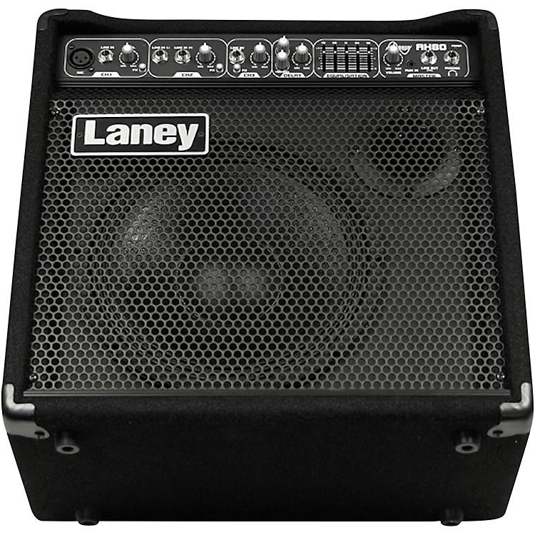 LaneyLaney AH80 Audio Hub 3 Channel Multi-Input Combo. 80W w/5-Band Master EQ & Digital Delay