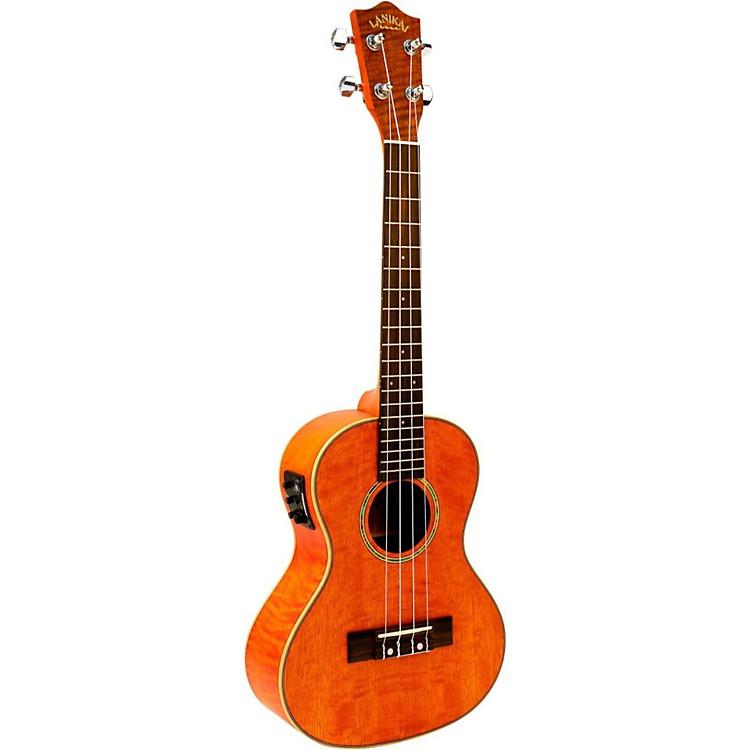 HohnerLanikai Curly Mango Acoustic-Electric Tenor Ukulele