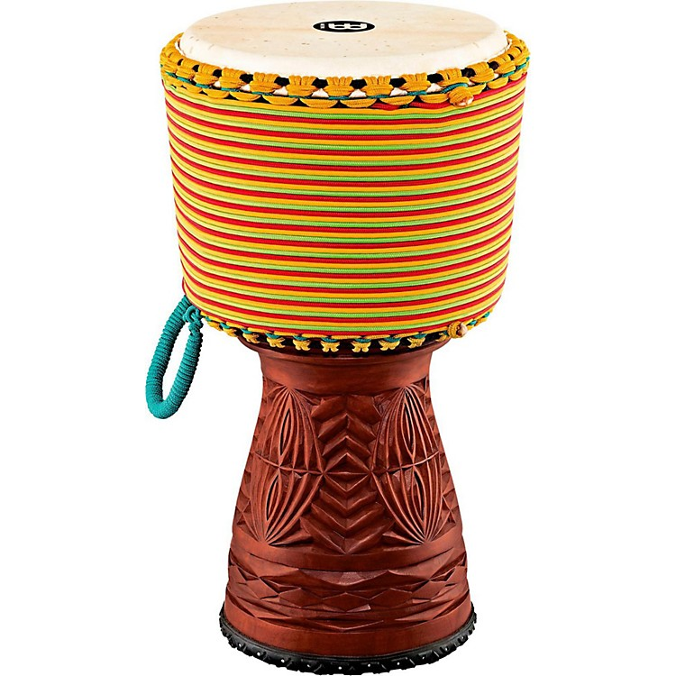 Meinl Large Artisan Edition Tongo Carved Mahogany Djembe 12 in.