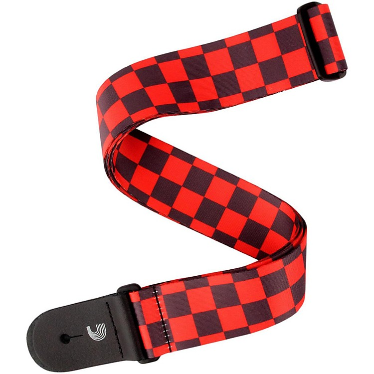 D'Addario Planet WavesLarge Checkerboard, by D'AddarioBlack and Red