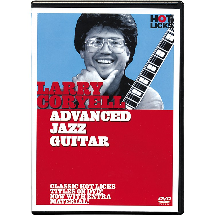 Hot Licks Larry Coryell Advanced Jazz Guitar DVD