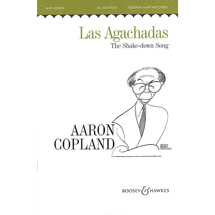 Boosey and HawkesLas Agachadas (The Shake-down Song) SATB DV A Cappella composed by Aaron Copland