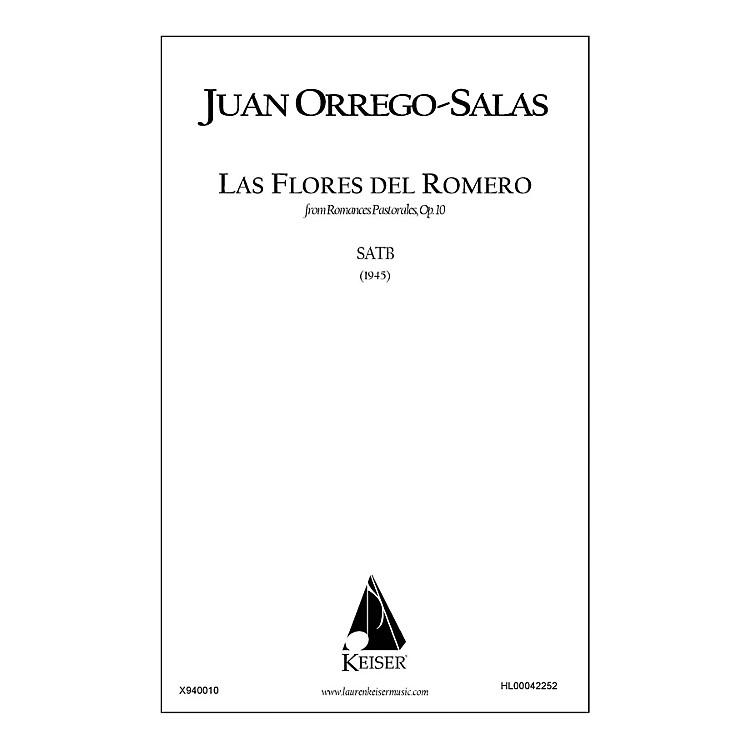 Lauren Keiser Music PublishingLas Flores Del Romero (from Romances Pastorales, Op. 10) SATB a cappella Composed by Juan Orrego-Salas
