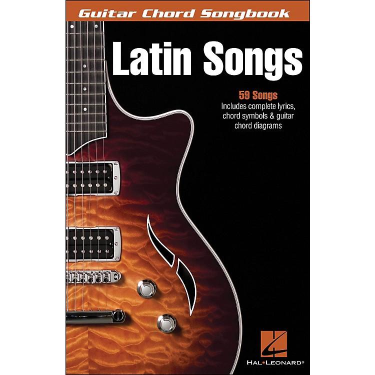 Hal LeonardLatin - Guitar Chord Songbook