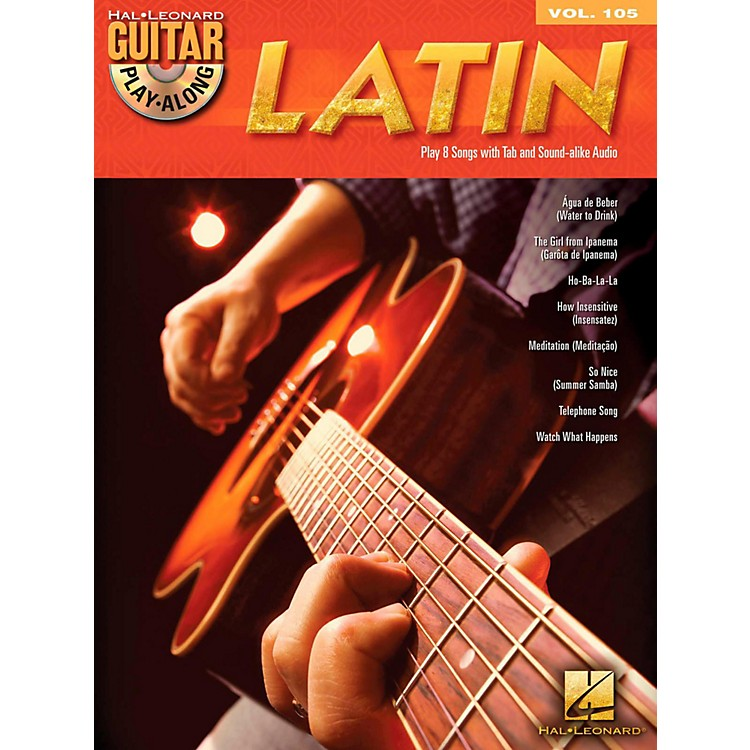 Hal Leonard Latin - Guitar Play-Along Volume 105 Book/CD
