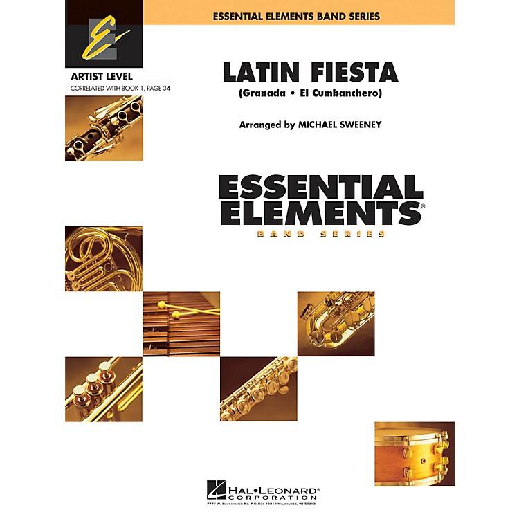 Hal LeonardLatin Fiesta Concert Band Level 1 Arranged by Michael Sweeney