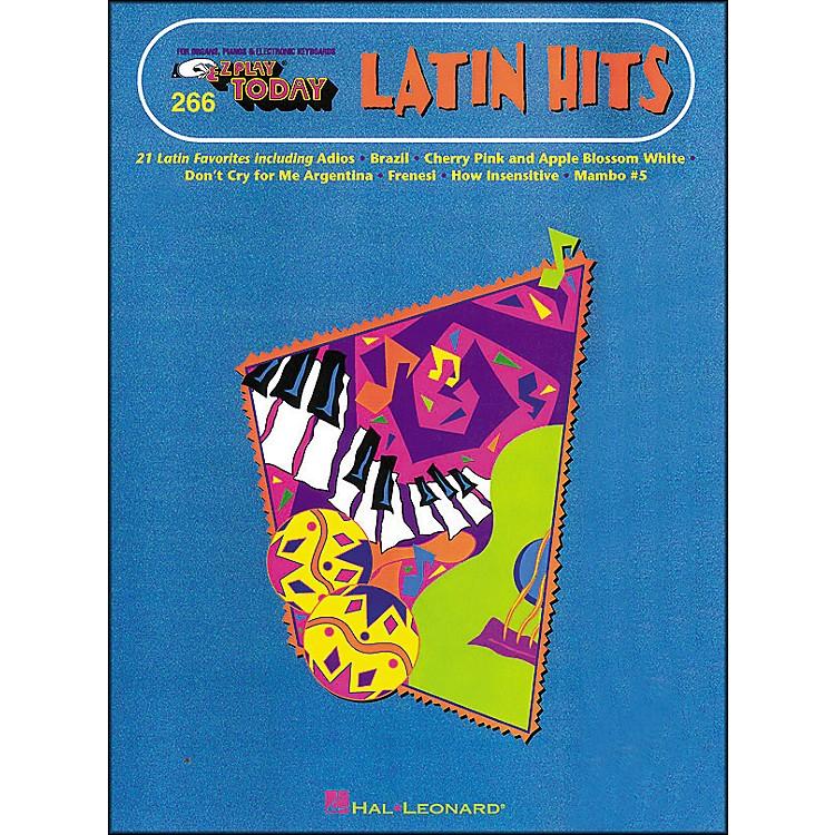 Hal LeonardLatin Hits E-Z Play 266