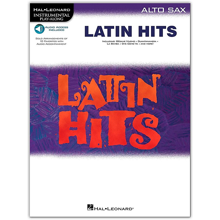 Hal LeonardLatin Hits for Alto Saxophone (Book/Online Audio)