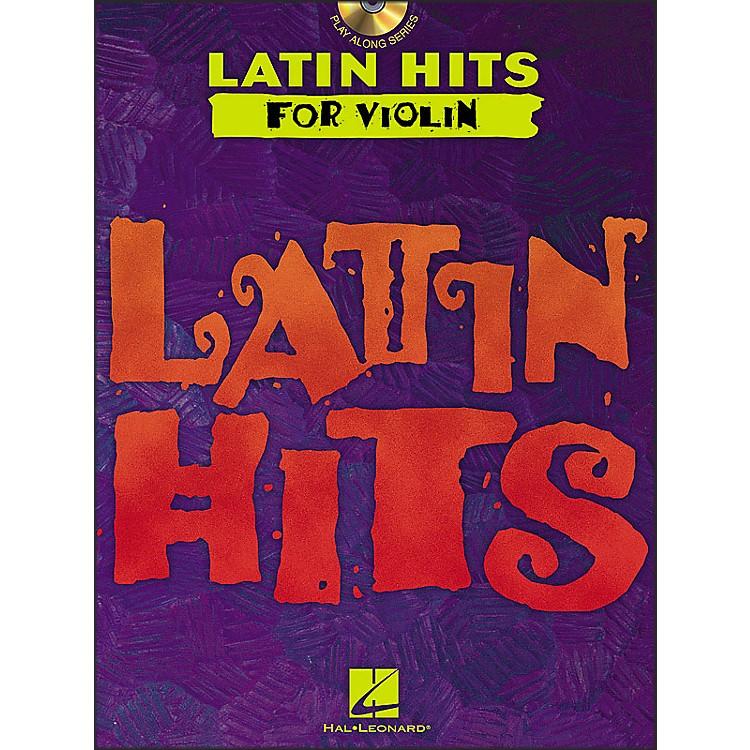 Hal LeonardLatin Hits for Violin Book/CD