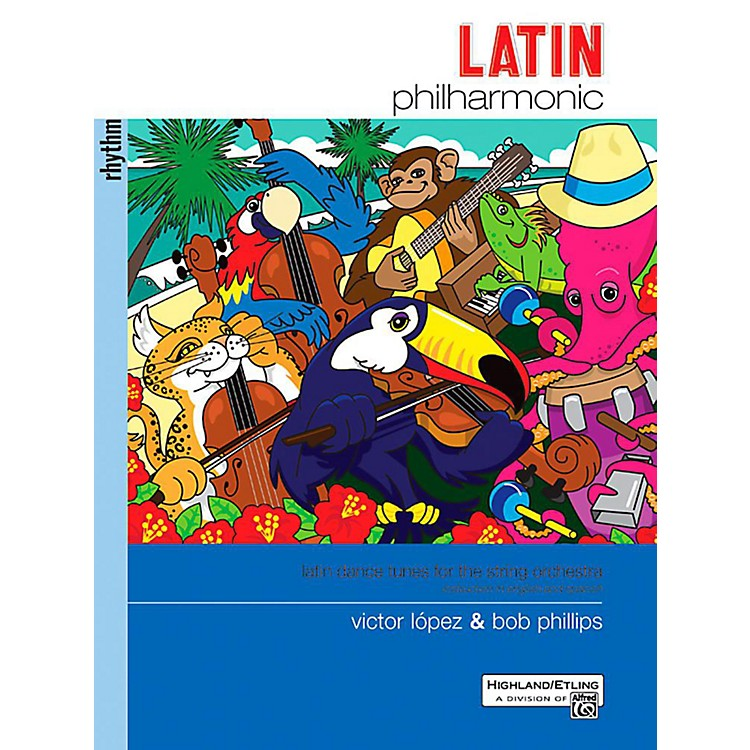 Alfred Latin Philharmonic - Rhythm Section Book
