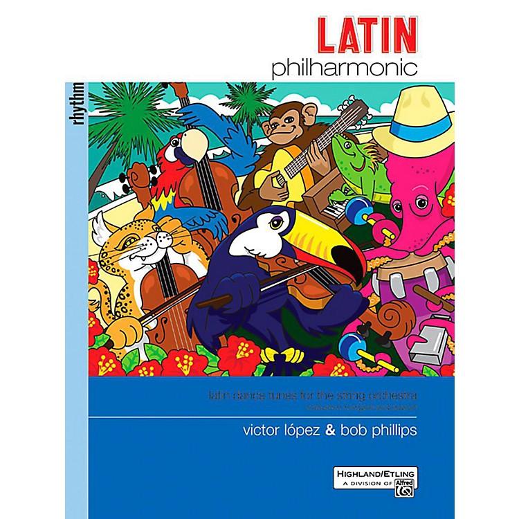 AlfredLatin Philharmonic - Rhythm Section Book