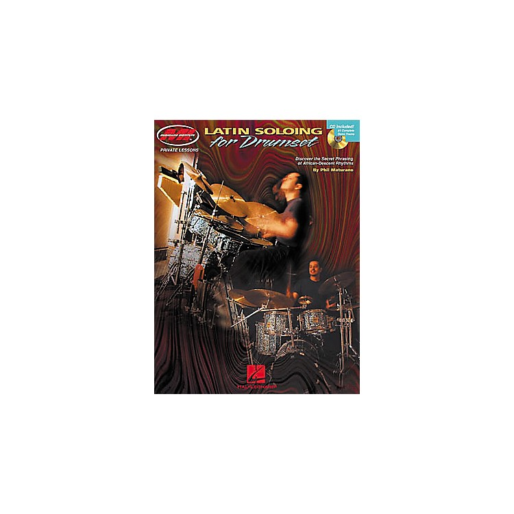 Hal Leonard Latin Soloing for Drumset Book/CD
