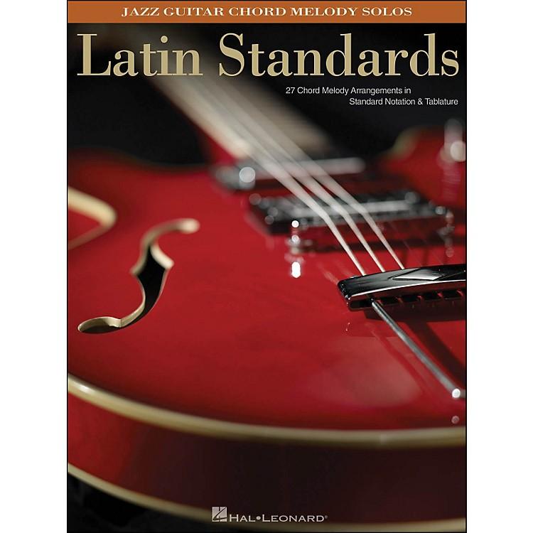 Hal LeonardLatin Standards - Jazz Guitar Chord Melody Solos