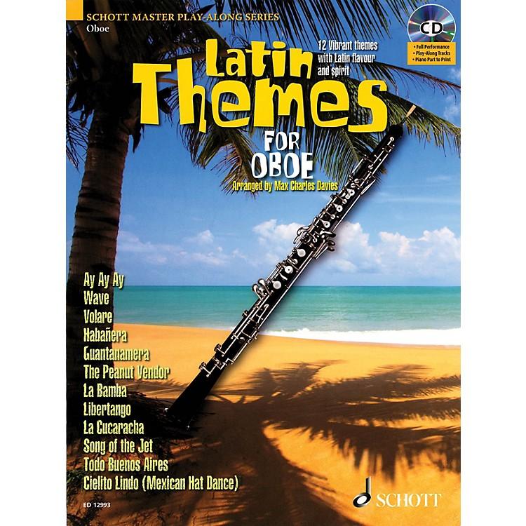 SchottLatin Themes for Oboe Instrumental Play-Along Series BK/CD