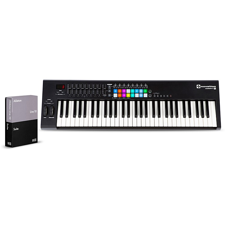 NovationLaunchkey 61 with Ableton Live 10 Suite