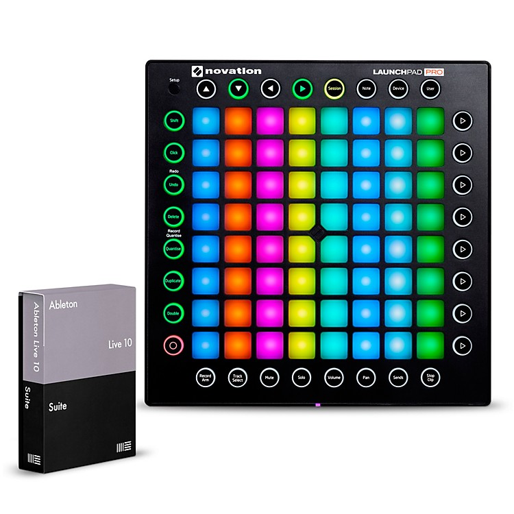 NovationLaunchpad Pro with Ableton Live 10 Suite