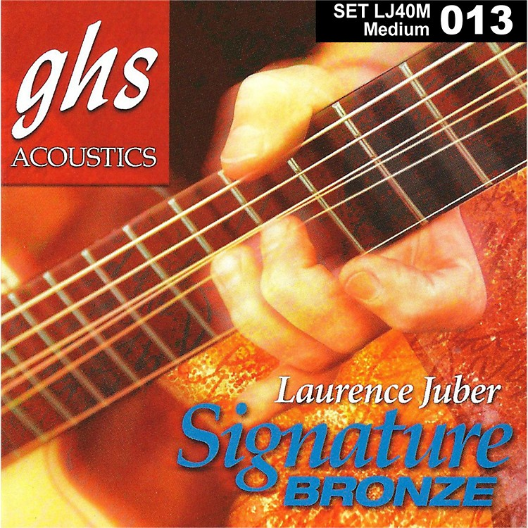 GHS Laurence Juber Signature Bronze Medium Strings